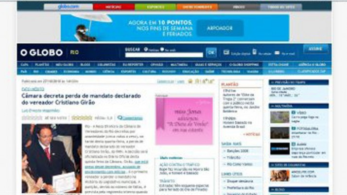 Câmara decreta perda de mandato declarado do vereador Cristiano Girão