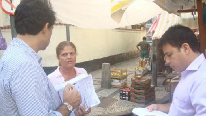 Vereador participa de agenda em Copacabana e discute calçamento, Metrô e cuidado aos idosos