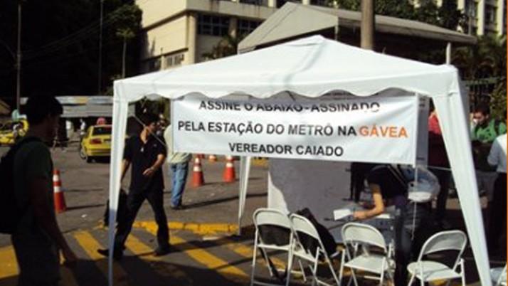 Caiado comemora anúncio de novo projeto do Metrô