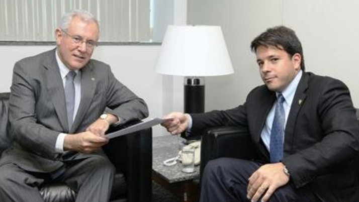 Carlo Caiado se reúne com o Procurador do RJ, Dr. Marfan Vieira