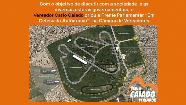 Novo Autódromo do Rio: Vereador cria Frente Parlamentar na Câmara de Vereadores