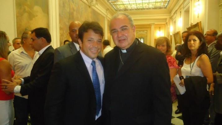Caiado parabeniza Dom Orani, novo Cardeal da Igreja Católica