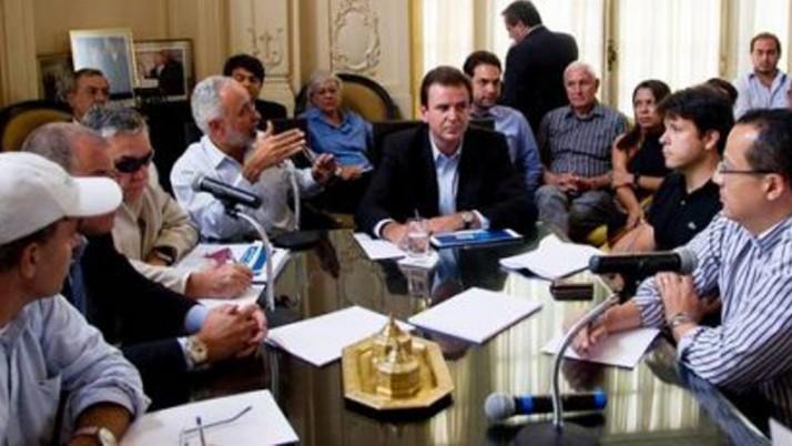 Vereador se reúne para discutir projetos da Prefeitura
