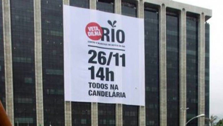 Vereador protesta contra tunga dos royalties