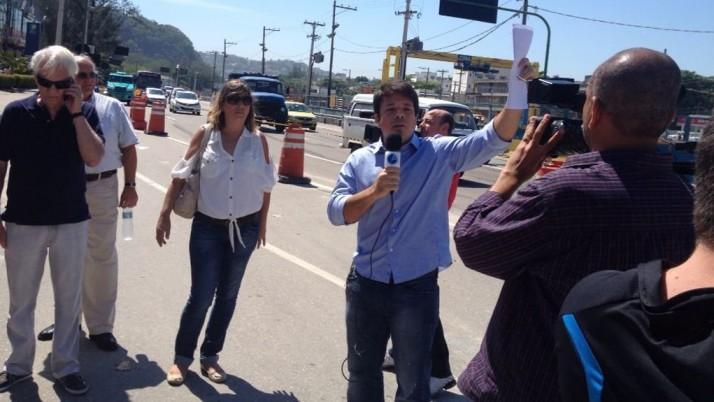 Vereador apela ao TCM e MP para cancelar licitação do BRT-Transoeste- Lote Zero