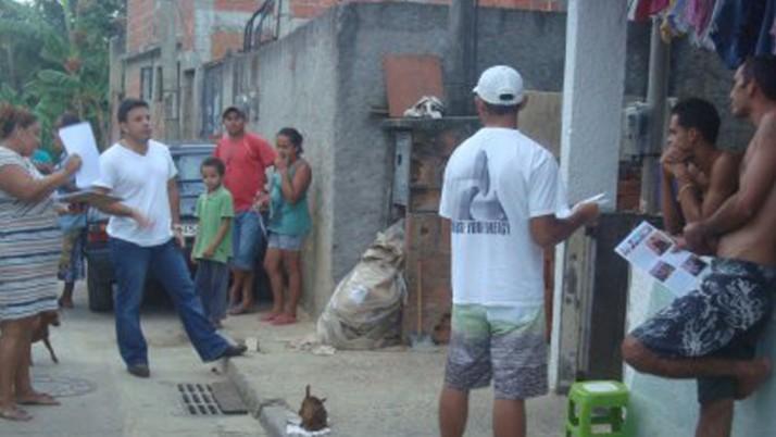 Caiado cumpre agenda na Zona Oeste no feriado de São Jorge