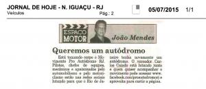 Jornal Hoje de Nova Iguaçú