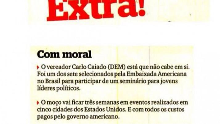 Caiado foi um dos sete selecionados pela Embaixada Americana para participar de seminário para jovens líderes políticos