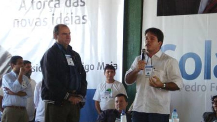 Convenção do DEM oficializa candidatura do vereador Carlo Caiado