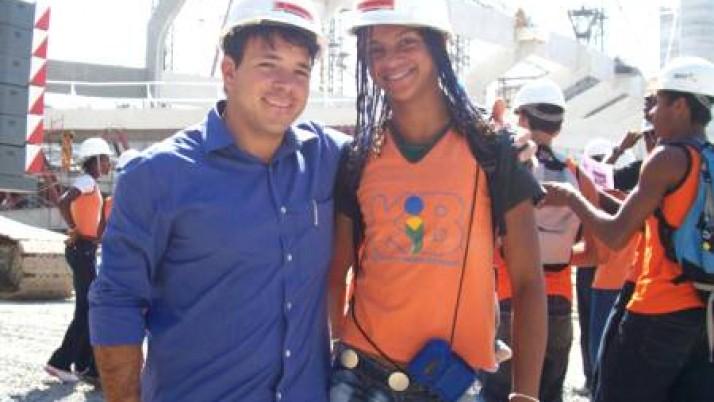 Caiado leva alunos atletas de Escola Municipal ao Engenhão e ao Complexo do Autódromo