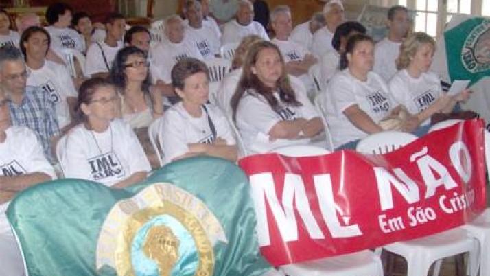 Vereador contra IML em São Cristóvão