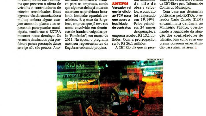 Extra: Caiado questiona ao Ministério Público atuação dos controladores de trânsito
