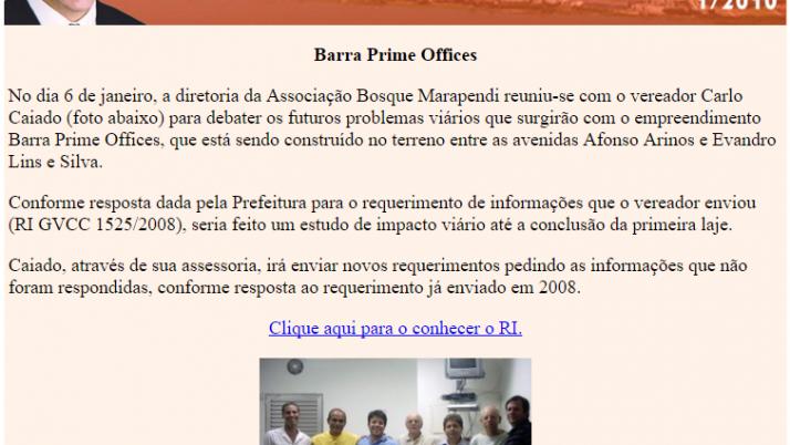 Diário da Barra 01/2010