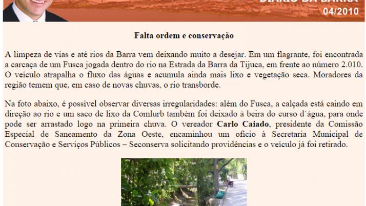 Diário da Barra 04/2010