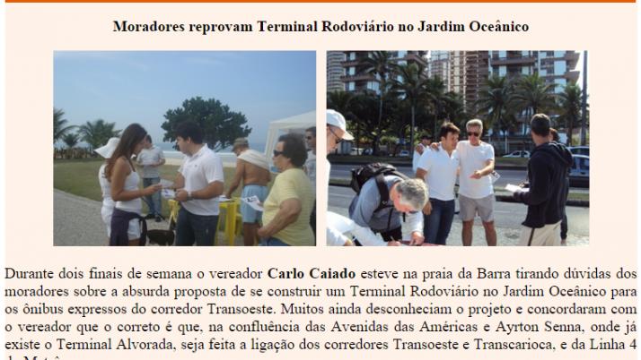 Diário da Barra 07/2011