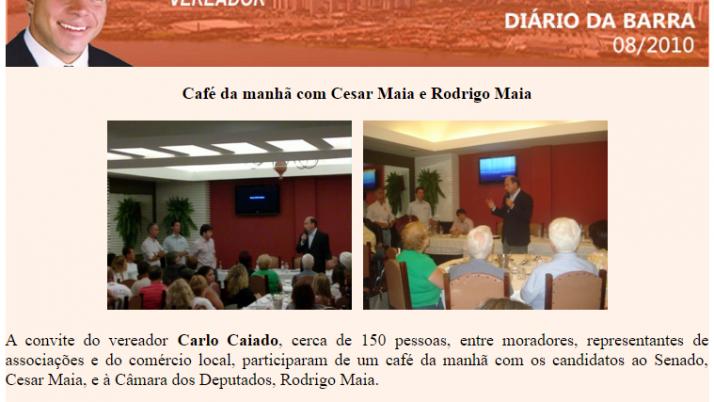 Diário da Barra 08/2010