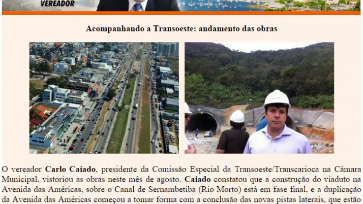 Diário da Barra 08/2011
