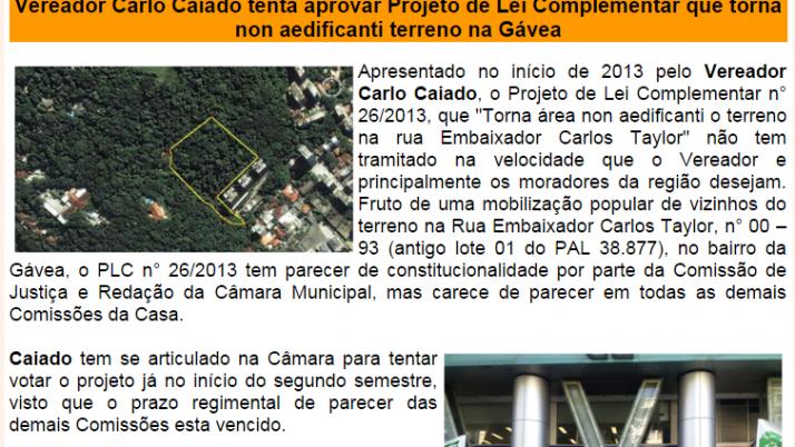 Diário da Zona Sul 06/2014