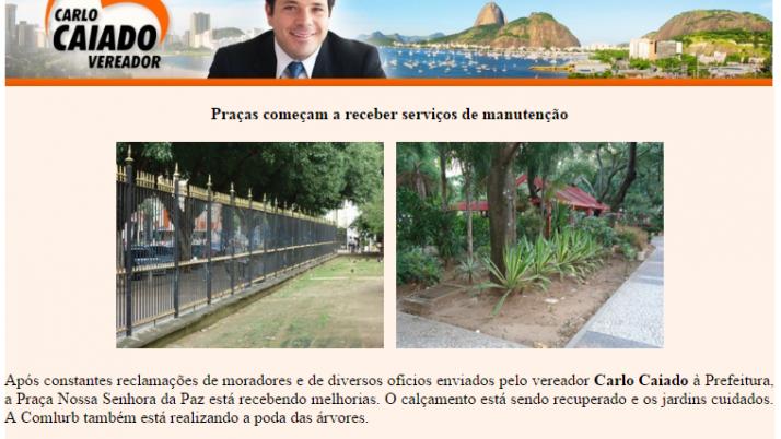 Ver. Carlo Caiado – Diário de Ipanema 07/2011
