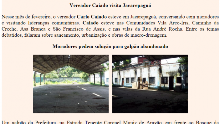 Diário de Jacarepaguá 02/2011