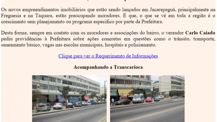 Diário de Jacarepaguá 07/2011