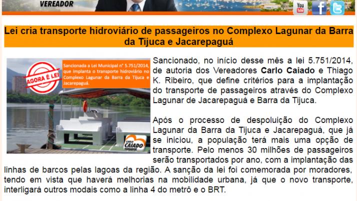 Ver. Carlo Caiado – 07/2014