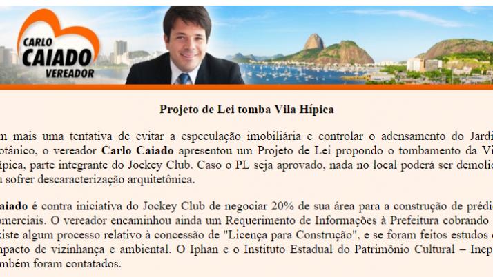 Ver. Carlo Caiado – 09/2010