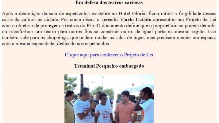 Ver. Carlo Caiado – 10/2010