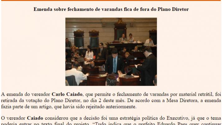 Ver. Carlo Caiado – 11/2010