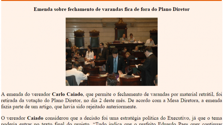 Diário da Barra 11/2010