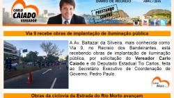 Ver. Carlo Caiado – Diário do Recreio 04/2016