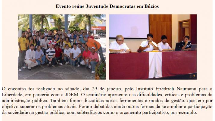 Ver. Carlo Caiado – 02/2011