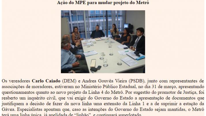 Ver. Carlo Caiado – 04/2011
