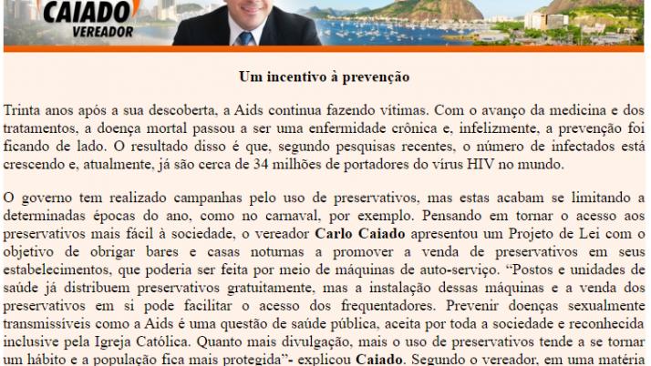 Ver. Carlo Caiado – 06/2011