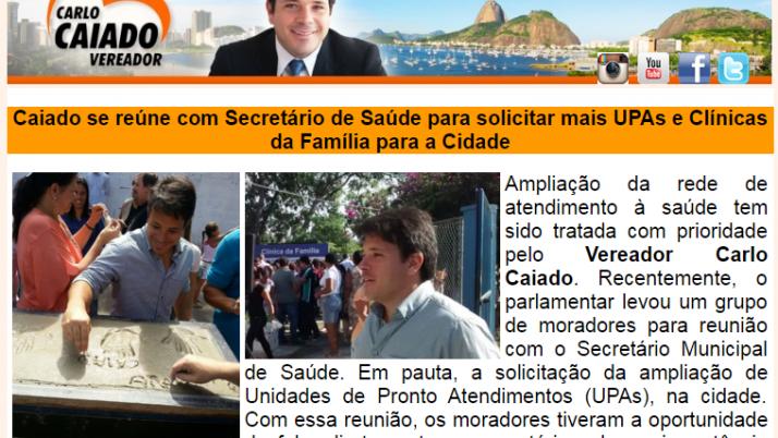 Ver. Carlo Caiado – 08/2015