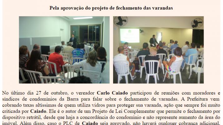 Ver. Carlo Caiado – 11/2011