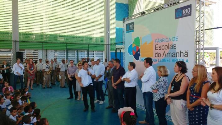 Jacarepaguá ganha mais duas Escolas do Amanhã