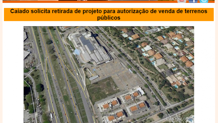 Ver. Carlo Caiado – Diário da Barra 03/2014