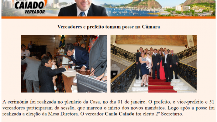 Ver. Carlo Caiado – 01/2013