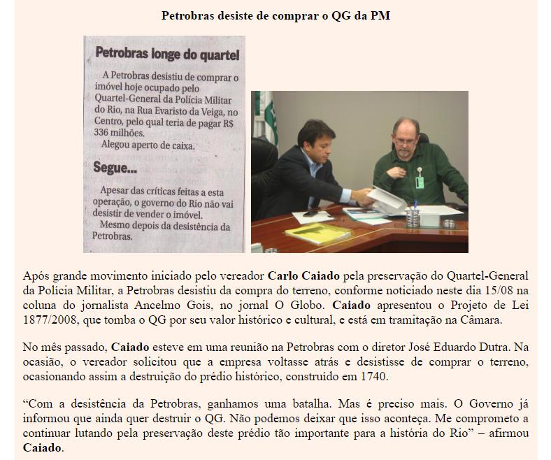 Ver. Carlo Caiado – 08/2012