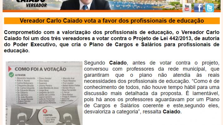 Ver. Carlo Caiado – 09/2013