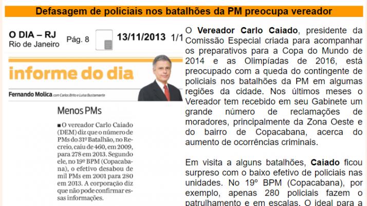 Ver. Carlo Caiado – 11/2013