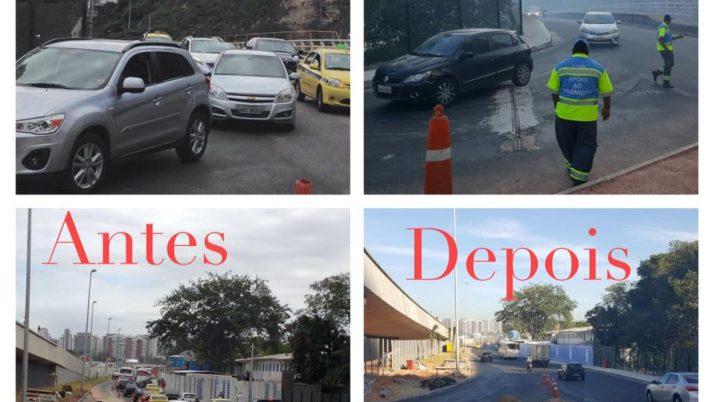 Nova intervenção sobre a ponte do Itanhangá melhora fluxo de veículos nas região