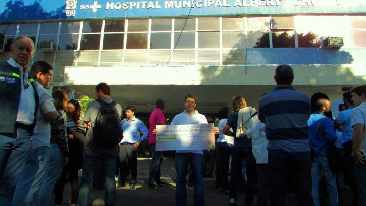 R$ 40 milhões para melhorias nos hospitais Albert Schweitzer e Rocha Faria
