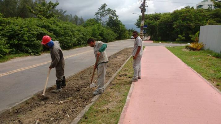 Cobrança por obras e finalização de ciclovia na Av. Alceu de Carvalho