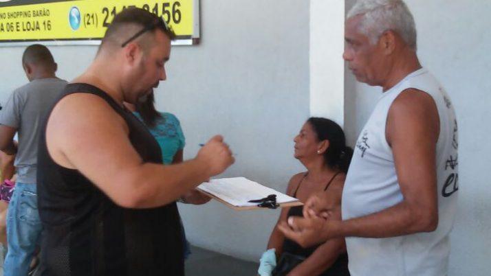 Vereador luta com moradores pelo retono da loja de serviços da Light no Shopping Santa Cruz