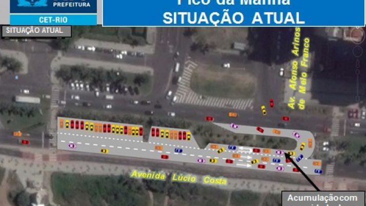 Caiado solicita estudos à CET-Rio para melhorias no trânsito do Jardim Oceânico