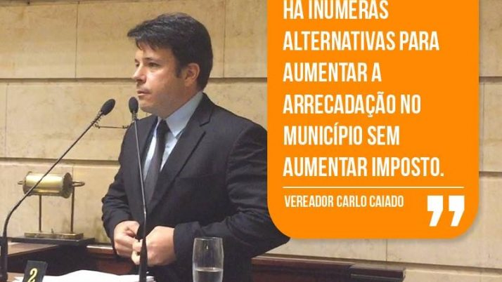 Caiado vota Não ao aumento de IPTU na Cidade