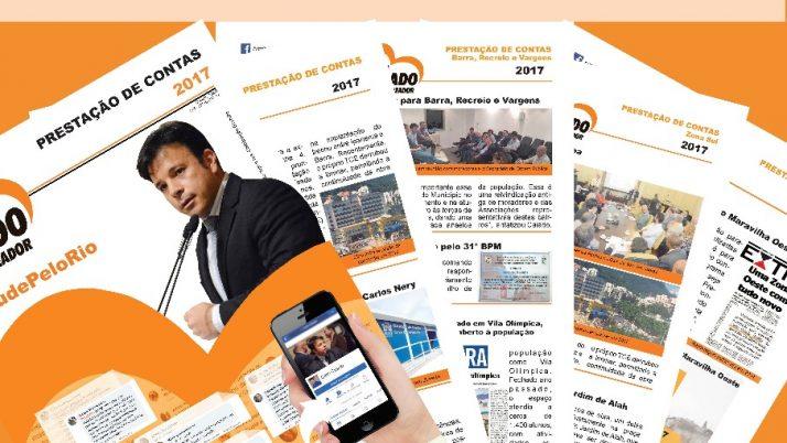 Jornal de Prestação de Contas 2017/Barra da Tijuca/ Zona Oeste / Zona Sul / Zona Norte