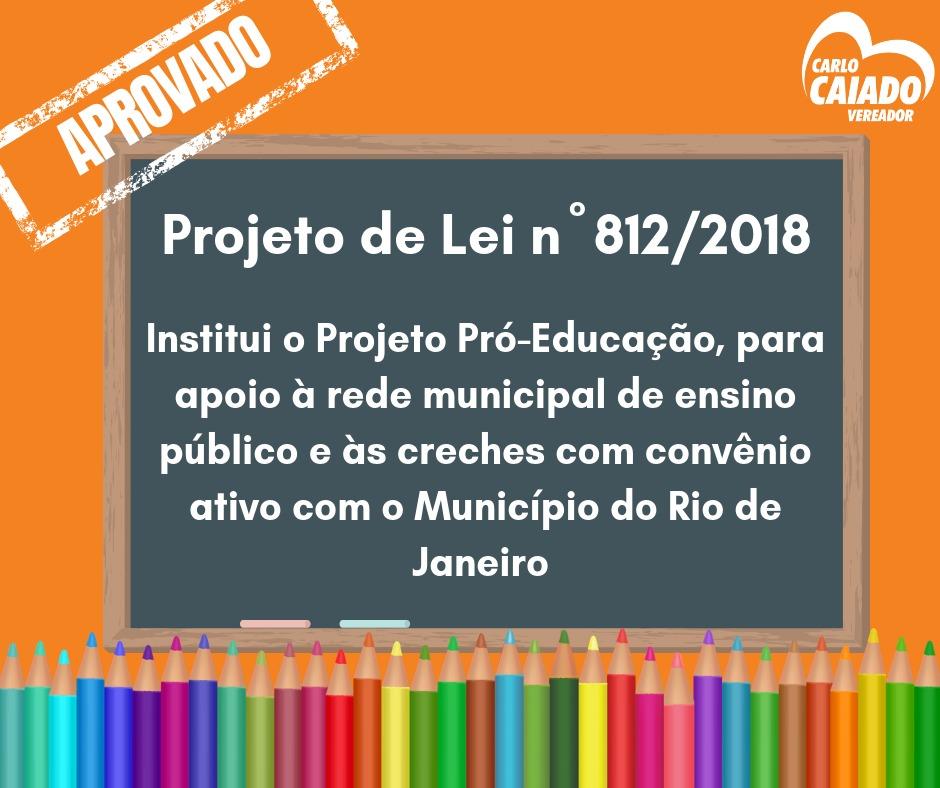 Projeto de Lei reforça investimentos em Educação